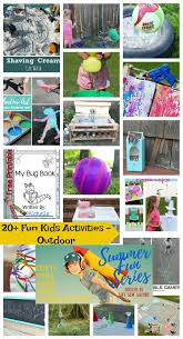 fun activities for kids outdoors life sew savory