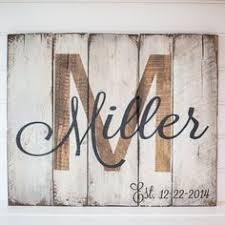 Barn Wood Letters Monogrammed Door Decor Wedding Gift Distressed Rustic Dorm Decor
