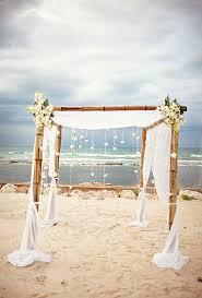 Bamboo Chuppah The 25 Best Beach Wedding Arbors Ideas On Pinterest Hawaii