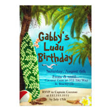 hawaiian luau invitations u0026 announcements zazzle