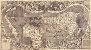 Byu Map Martin Waldseemüller U0027s 1507 Map The First Map To Apply The Name