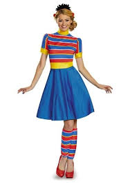 Halloween Costumes Sesame Street Ernie Sesame Street Woman Costume 49 99 Costume Land