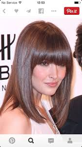 Medium Length Bob Haircuts Hair by 143 Best Hair Images On Hair Hairstyle And Blunt Fringe