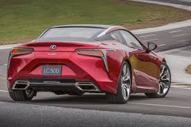 lexus lc spied lexus rolls out the big guns new 467bhp lc 500 coupe revealed in