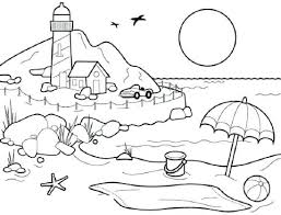 coloring pages for landscapes scenery coloring pages with landscapes coloring pages for adults of