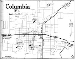 columbia missouri map missouri maps perry castañeda map collection ut library