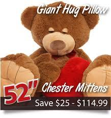 target teddy bear black friday huge adorable romantic valentine u0027s day teddy bears 2 6ft tall