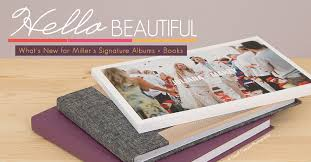 beautiful photo albums what s new for miller s signature albums books