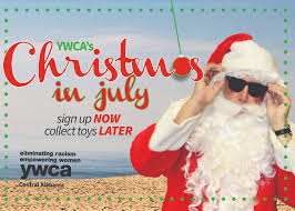 christmas in july christmas in july ywca