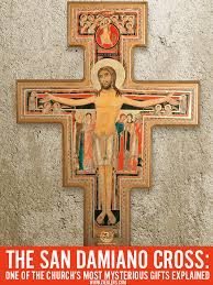 san damiano crucifix the san damiano cross one of the church s most mysterious gifts