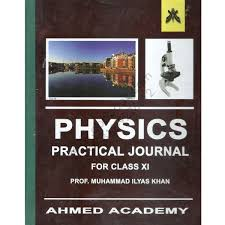 physics practical journal 2015 for class first year by prof m