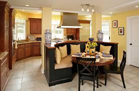 Eat In Kitchen Island Designs Corner Kitchen Island Trendy Black And White Kitchen Island With