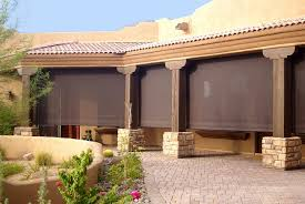 Shades For Patio Covers An Escape From The Arizona Sun Liberty Home Products