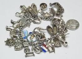 sterling silver bracelet ebay images Vintage silver charm bracelet ebay JPG