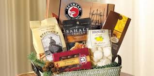 seattle gift baskets gourmet gift baskets seabear salmon