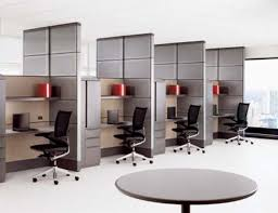 Small Office Space Decorating Ideas Stylish Home Office Space Ideas In White Contemporary Design