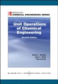 unit operation of chemical engineering 7e by mccabe warren author