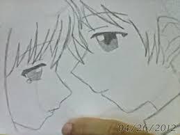 anime couple sketch by miyuki chan13 on deviantart