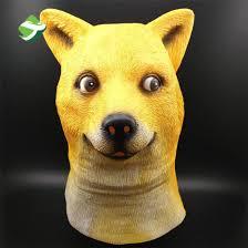 Such Doge Meme - china factory price doge meme mask kabosu face latex headgear such