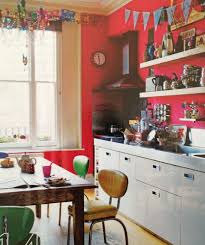 indian kitchen decoration colormob wonderful red cabinets design