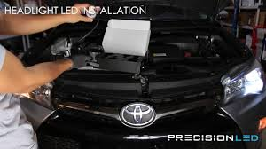 camry lexus conversion toyota camry led headlights how to install 2011 youtube