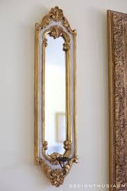 How To Decorate A Mirror How To Compensate For Artwork That U0027s Too Small