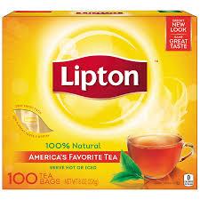 amazon com lipton black tea bags 100 natural tea 100 ct prime
