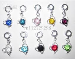 birthstone pendants for charms for pandora bracelets