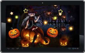live halloween wallpapers group 14