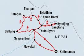 Nepal On Map by Nepal Tours Treks U0026 Travel Intrepid Travel Us