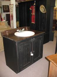 small black bathroom sink cabinets features laminated wooden