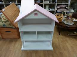 Kids White Bookcase by Furniture Lovely Dollhouse Bookcase With White Wall And Pink Room