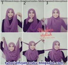 tutorial hijab paris zaskia tutorial hijab paris ala zaskia simple dan mudah terbaru 2017