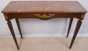 antique console tables for sale marble top console table attractive antique french style gilt