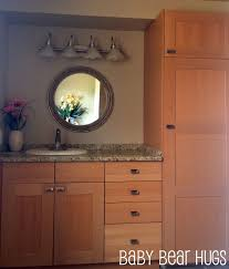 Using Kitchen Cabinets For Bathroom Vanity Amazing Simple Kitchen Cabinets As Bathroom Vanity With Additional