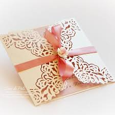 wedding invitation pattern card 66
