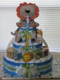 animal diaper cakes ideas 93083 animal toy diaper cake bab