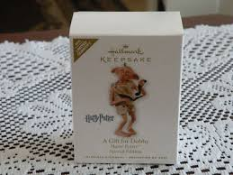 hallmark 2010 harry potter a gift for dobby ornament antique