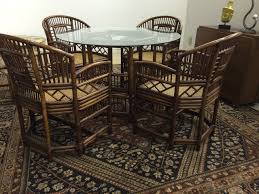 antique vintage rattan furniture painting vintage rattan