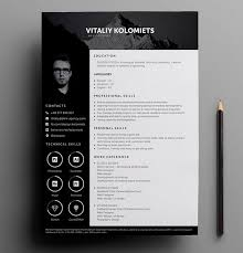 Free Resume Template Design 20 Free Resume Template Download Psd Ai Resume Examples