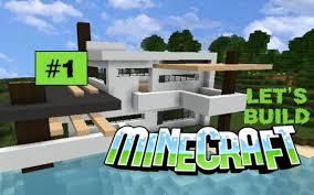 Modern House Minecraft Minecraft Let U0027s Build Modern House Part 1 Stuttgart Hill Youtube