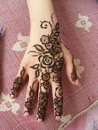 floral rose henna tattoo in beverly hills and los angeles at www