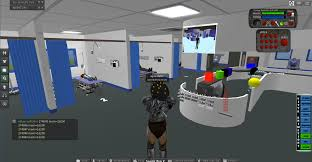 training in a virtual hospital zombies life at the feeding edge