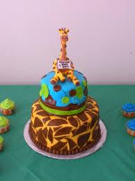 giraffe baby shower cake cakecentral com