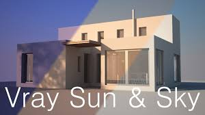 Home Lighting Design Tutorial Vray Lighting Tutorial Vray Sun And Sky For Beginners Youtube