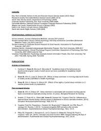 psychology resume template efficiencyexperts us