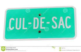 cul de sac sign stock image image of close sign transport
