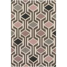 artistic weavers hilda gisele blush pink 2 ft x 3 ft indoor area