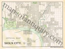 Map Of Des Moines Iowa Antique Maps And Charts U2013 Original Vintage Rare Historical