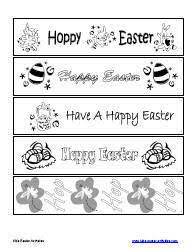 printable easter bookmarks to colour easter activities for kids easter math worksheets easter games